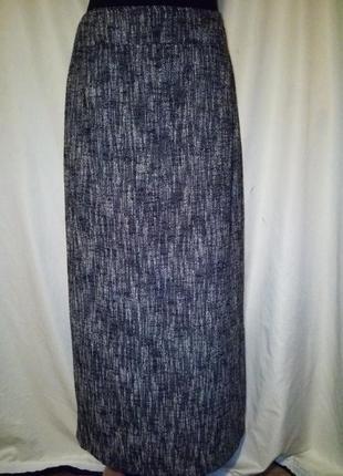 Осенний шикарный костюм макси 45%шерсть деловой стильный