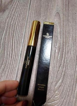 Тушь для ресниц incredible length mascara giordani gold
