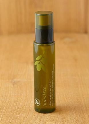 Двухфазный вода-масло увлажняющий тонер-мист с маслом оливы от innisfree