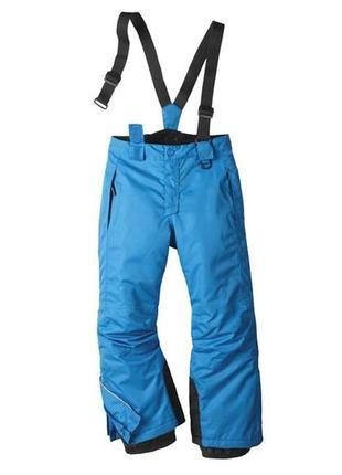 Лыжные зимние термо штаны мембрана crivit германия р. 122-128