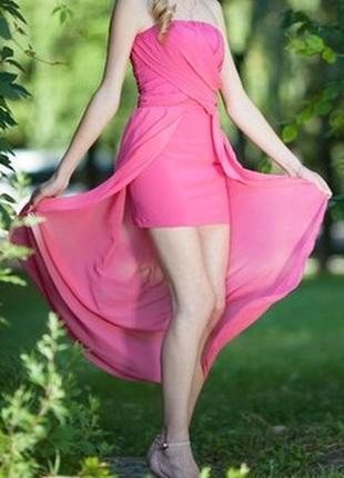Платье , было шитое на заказ