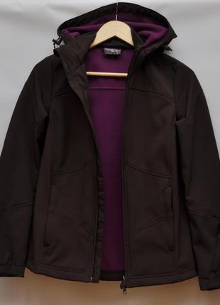 Термо куртка, лыжная, на флисе, известный бренд, состояние новой вещи!