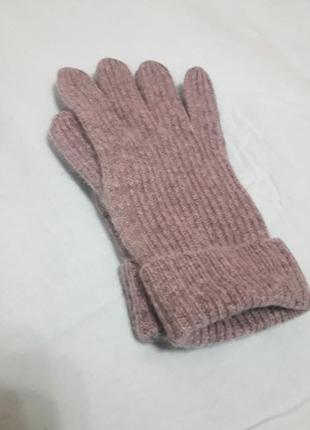 Cos перчатки кашемировые серые размер l 100% кашемир