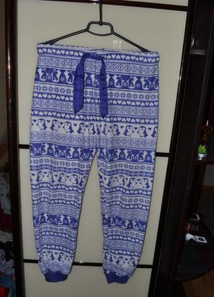 Классные пижамные штаны одежда для дома новые