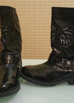 Лаковые женские ботинки из 100% кожи next