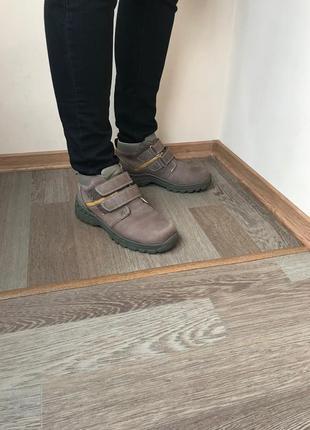 Кожаные ботинки next 38р 24 см. носили на ногу 24,5 было комфортно.