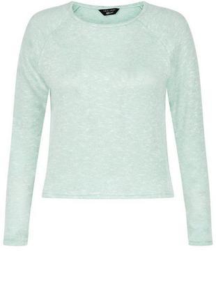 -25% на все! актуальная джемпер тонкой вязки, мятный пуловер, свитер свободный