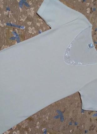 Термобелье футболка шерсть-котон р-р l-xl