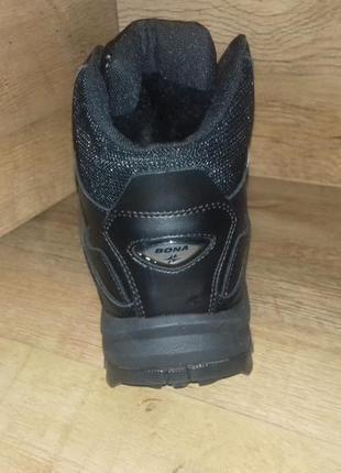 Зимние мужские ботинки кроссовки великаны bona натуральная кожа р. 47-502