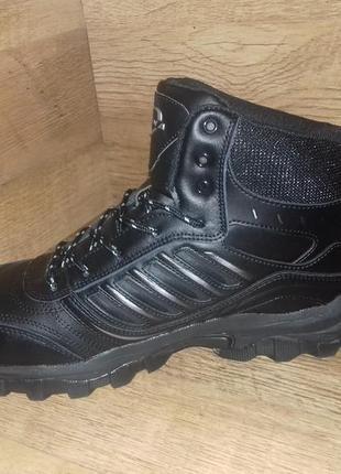 Зимние мужские ботинки кроссовки великаны bona натуральная кожа р. 47-504