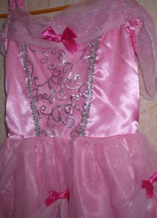 Карнавальное новогоднее платье золушка 3-5 лет