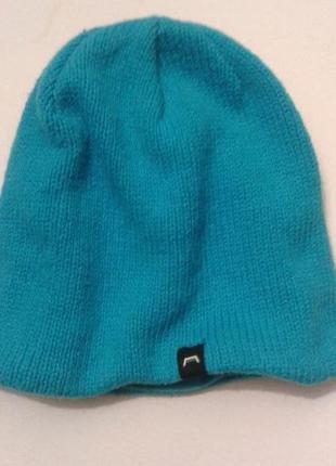 Вязанная термо шапка на флисе tcm tchibo германия