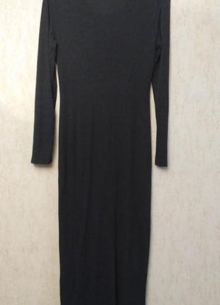 Платье макси итальянского бренда comma