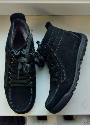 Зимние ботинки ботиночки 37размер 23,5см стелька