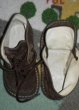 Замшевые туфельки для ребенка