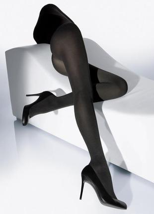 Wolford made in austria cатин новые в оригинальной упаковке германия 95€ колготки черные