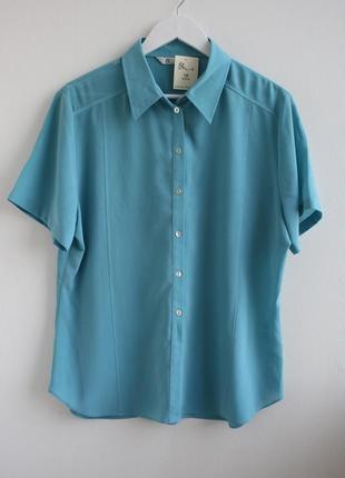 Нежная шифоновая рубашка, блуза большого размера