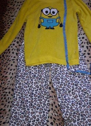 Пижама теплая 42 размер