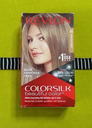 Краска для волос revlon оригинал сша, темно пепельный блондин, новая!