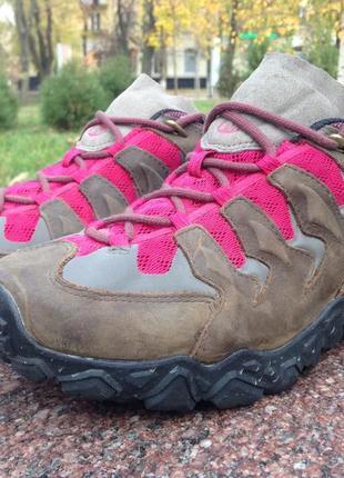 Треккинговые кроссовки merrell vibram gore-tex original