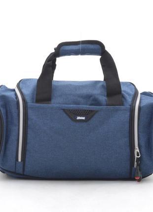 Дорожная сумка. цвет: темно-синий (на фото), синий, серый, бордовый, черный.