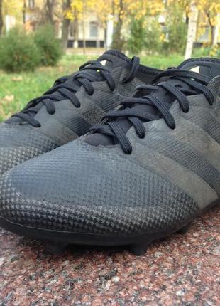 Бутсы, бампы adidas ace 16.3 primemesh black original