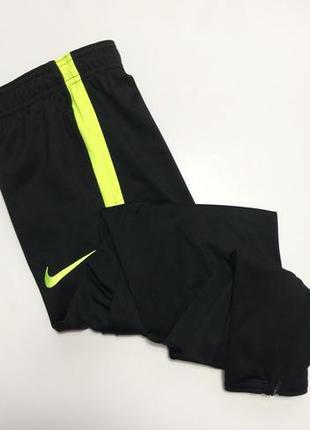 Мужские спортивные штаны nike dri-fit original зауженные чёрные м