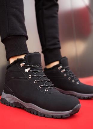 Зимние мужские ботинки под timberland кроссовки на меху