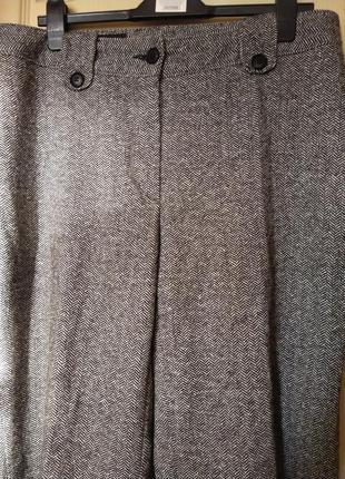 Теплые и удобные брюки немецкого бренда anna montana в составе шерсть и эластан