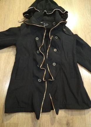 Плащ на флисе, пальто детское