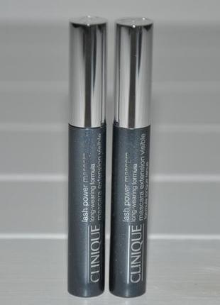 Тушь для ресниц clinique lash power mascara long-wearing formula
