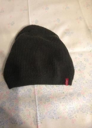 Шикарная женская шапка levis оригинал