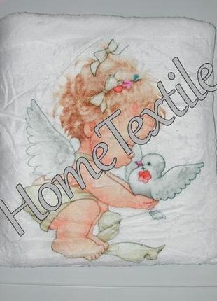 Крестильное полотенце, крыжма ангелочки