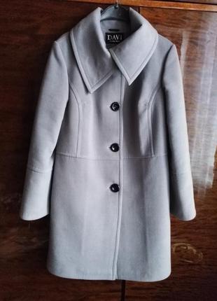 Зимнее пальто кашемир
