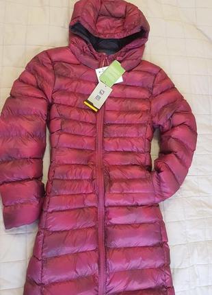Невероятно теплый,ультралегкий пуховик,куртка,пальто mountain warehouse, размер uk 14