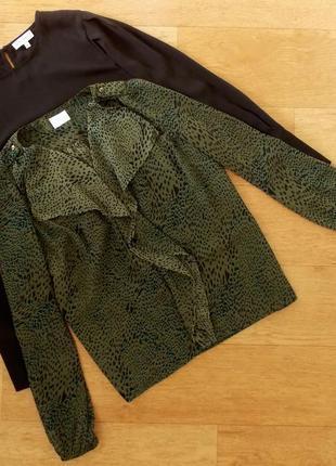 Леопардовая блузка vila