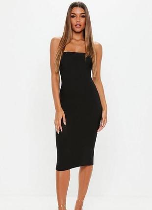 Вечернее нарядное бандажное платье от бренда missguided