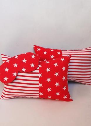 Декоративная подушка - звезды