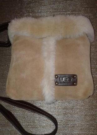 Стильная сумочка кроссбоди от ugg ( оригинал )