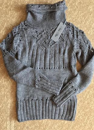 Очень тёплый свитер машинной вязки 😍👍🏽