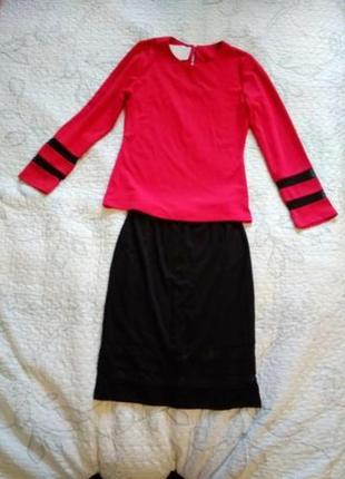Костюм юбка+кофта женский
