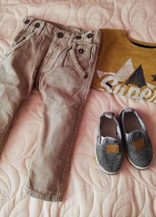 Вельветовые штаны (брюки) типа next