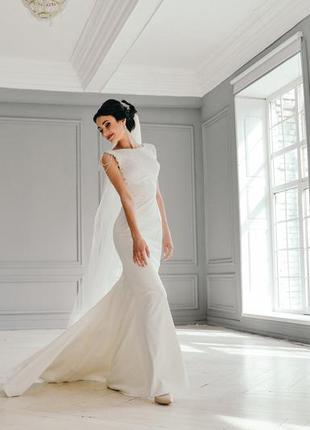 Весільна сукня рибка (невінчана)
