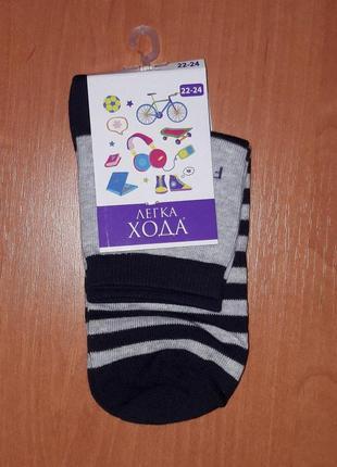 Детские носки тм легка хода демисезонные р. 22