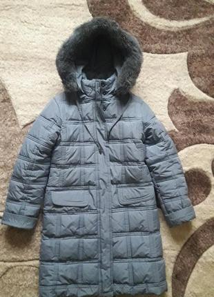 Пальто куртка зима 146р