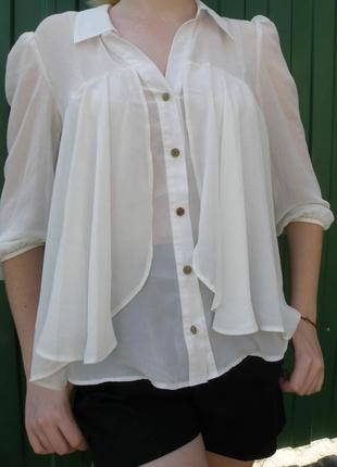 Полупрозрачная блуза atmosphere
