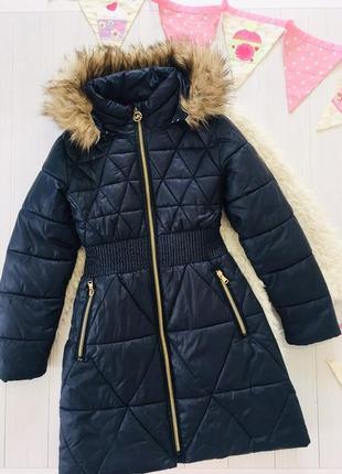 Michael kors mk kids шикарное пальто куртка