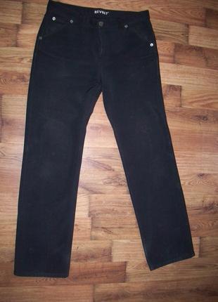 Мужские джинсы на флисе мужские брюки revolt