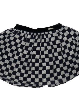 Новая юбка в квадраты на подкладке, mayoral, 4911