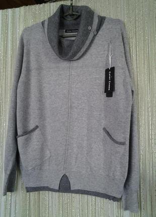 Теплый свитер раз l, xl